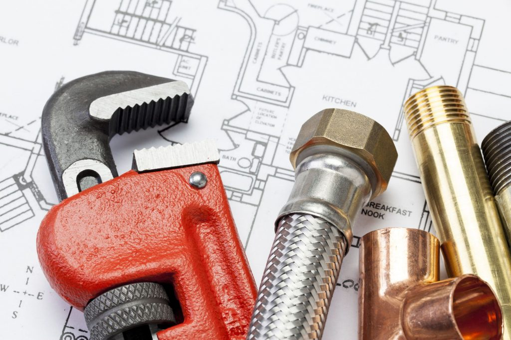 Basic Home Plumbing System Tools